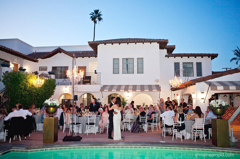 Wedding Bliss at Palm Springs Hotel California