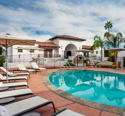 Triada Palm Springs 2 Outdoor Heated Pools and Hot Tub